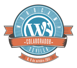 Colaborador en WordCamp Sevilla