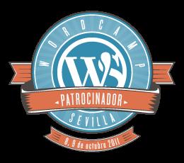 Patrocinador en WordCamp Sevilla